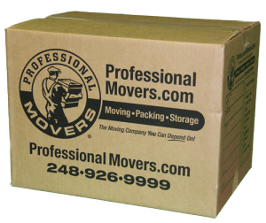 Professional Movers Small Box
