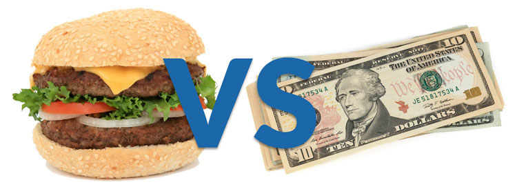 How much to tip movers - Food vs. Cash