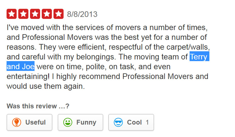 How much to tip movers - Online Review