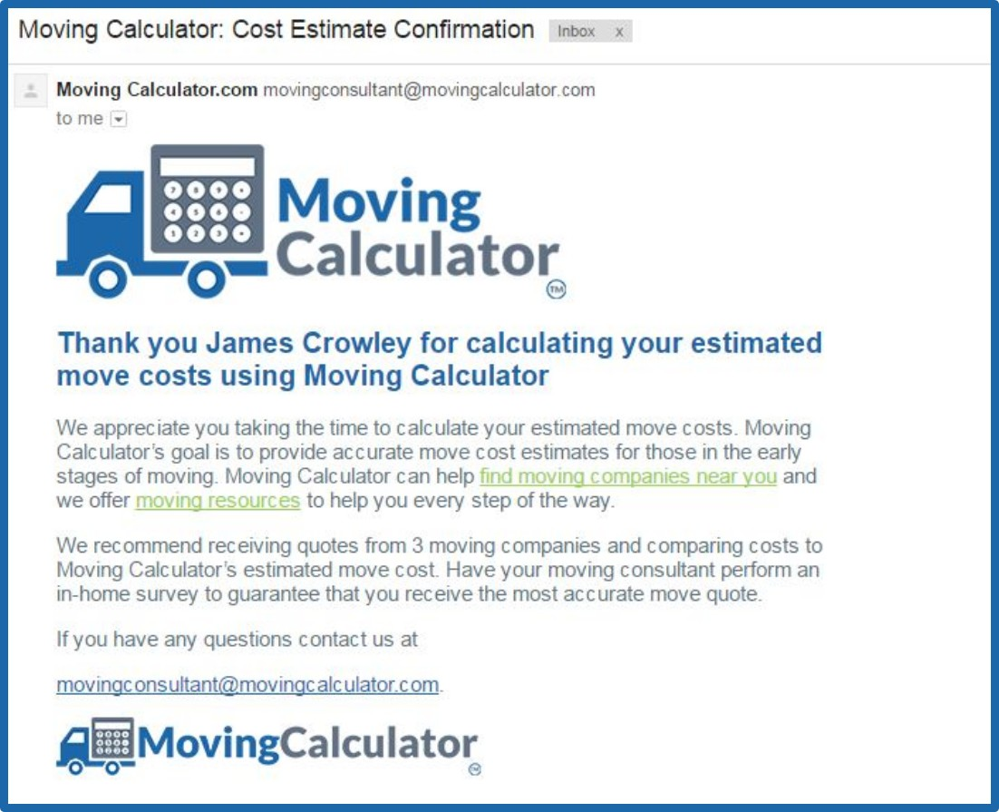 Cost Of Moving >> 협력교원 문의사항 Approximate Moving Price Calculator